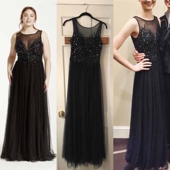Xscape Dresses Black Sequin Prom Dress Poshmark